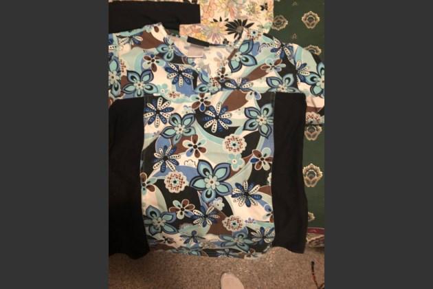 Small Stretchy Uniform Top (9)
