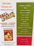 Fall Fair 2019 Flyer