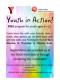 Youth in Action promotion flyer 2019