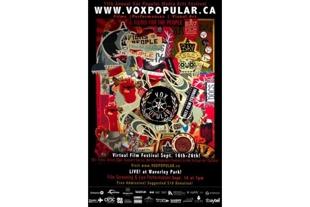 vox pop poster 11x17 NEWW