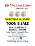 May Court Shop Toonie Sale JUNE 2020 JPEG