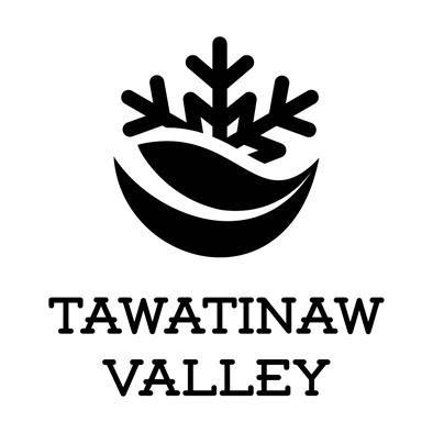 Tawatinaw Valley Ski logo bw