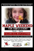 Maple Weekend Poster