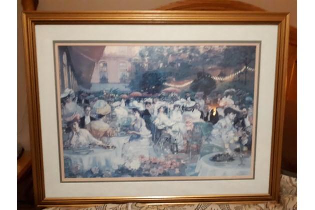 Le Diner A L'Hotel Ritz, Paris, 1094 ny Pierre-Georges Jeanniot