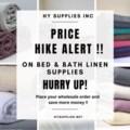 Price hike alert
