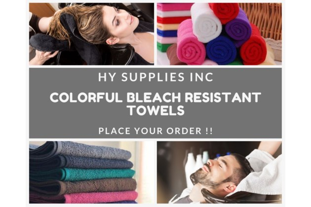 Bleach resistant Towels