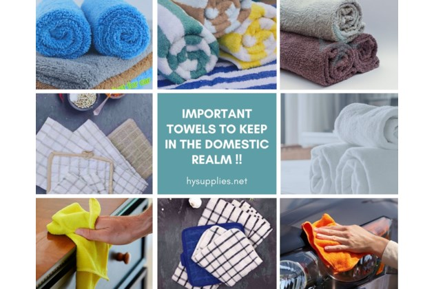 Towels - household