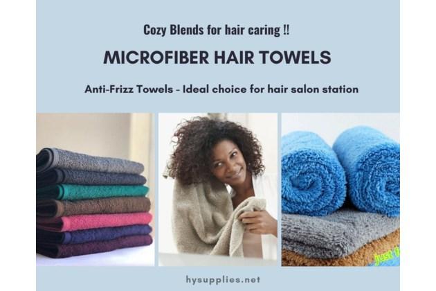 Anti-Frizz Towels