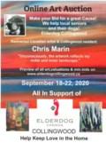 Elderdog Art Auction Poster