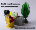 Grow your business, not your workload.
