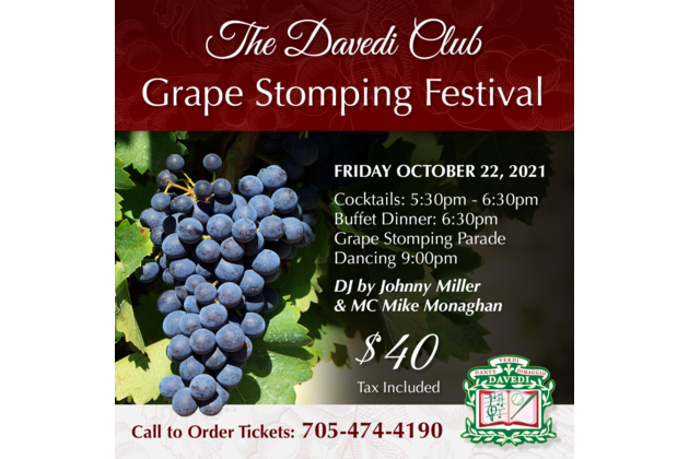 Grape Stomping 2021
