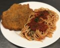 Cutlet with Spaghetti no parm 1