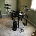 ROLAND TD-4 ELECTRONIC DRUM SET001