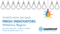 Fresh Innovators Tickets Now AvailableTwitter