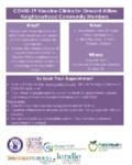 covid clinic info