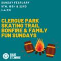 Bonfire & Family Fun at Clergue Skate Trail