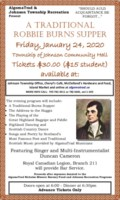 burns supper poster 2020 legal size
