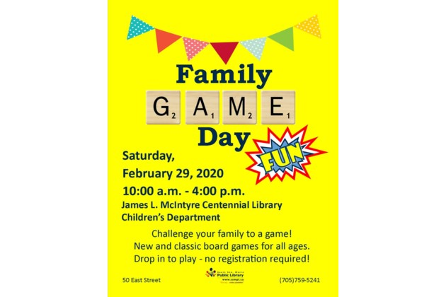 Family Game Day 2020