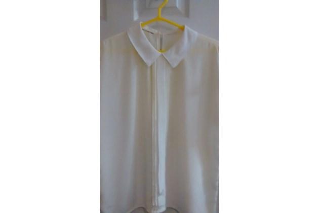 White Cap Sleeve Blouse