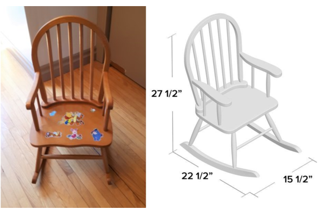 chair plus dimensions