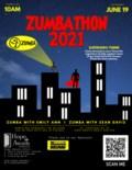 Zumbathon 2021 Poster