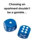 Blue dice