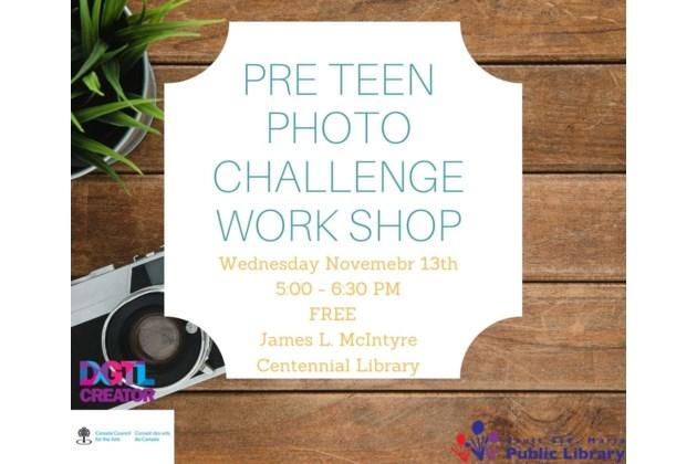 Pre-Teen Workshop