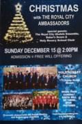 rca christmas poster