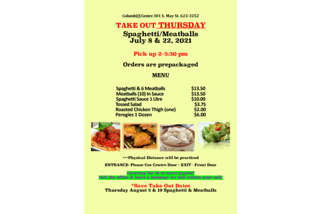 july august take out