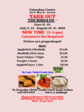 take out June July Aug