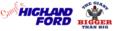 Highland Logo with Gorilla
