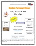 Chicken Parmesan Dinner Poster Oct 25-1