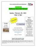Roast Beef Dinner Feb 28-1