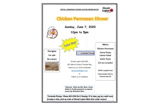 Chicken Parmesan Dinner Poster-1