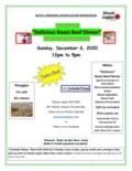 Roast Beef Dinner Dec 6-1
