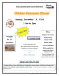 Chicken Parmesan Dinner Poster Dec13-1