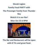 Family Feud Canada with The Presenger Family Poster-1