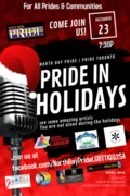 Pride In Holidays Poster 2020