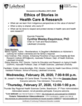 poster Feb 26 & 27, 2020 - Ethics of stories