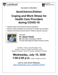 png, Webinar poster - Coping & work stress during COVID, July 15 2020