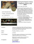 20200303 Introduction to Holy Week