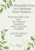 Green Mother's Day Flowers Business Poster