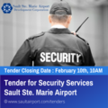 Tender for Security Service Ad