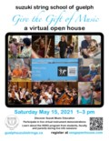SSSG Virtual Open House 2021 poster