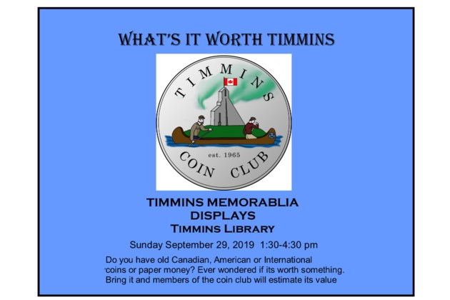Timmins Currency Show2019