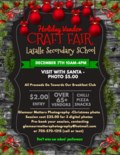 Lasalle Secondary Holiday Craft: Vendor Show Poster