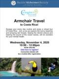 Caregiver Wellness Armchair Travel to Costa Rica