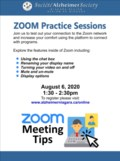 Zoom Practice Session Aug 6