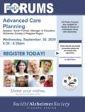 Advanced Care Planning Sept 30