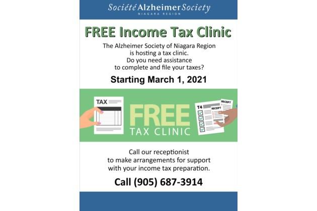 Mar 1 Free Tax Clinic